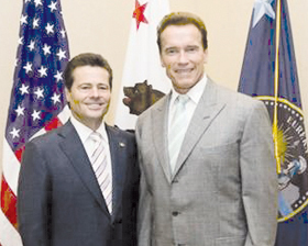 <!--:es-->Photos of Gov. Arnold Schwarzenegger Meeting with Gov. Eduardo Bours of Sonora, Mexico<!--:-->