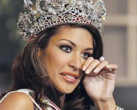 <!--:es-->Miss Venezuela corona  a la amazónica Dayana  Mendoza reina de la belleza<!--:-->