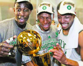 <!--:es-->Los Celtics se  coronan en la NBA<!--:-->