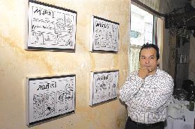 <!--:es-->Jorge Grosso Recibe Premio por sus Caricaturas<!--:-->