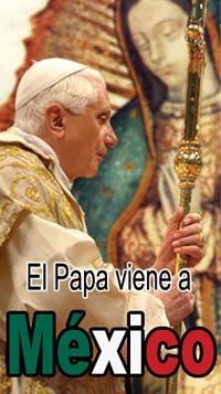 Construir la Paz invitación del Papa Benedicto XVl para América en su visita a México del 23 al 26 de marzo en Guanajuato.