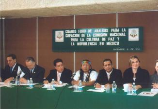 <!--:es-->Yerena llevará creación de COMNAPAZ a la Cumbre Mundial de Paz en Puerto Vallarta<!--:-->