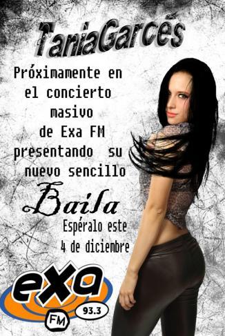<!--:es-->Abrirá Concierto de EXA, Tania Garcés enigmática cantante mexicana.<!--:-->