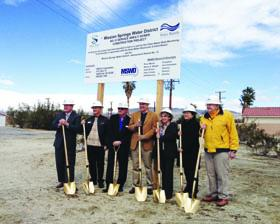 <!--:es-->Supervisor John J. Benoit joined Mission Springs Water District officials in the groundbreaking of the district's $10.3 million project to protect the district's pristine water supply.<!--:-->