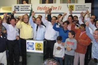 <!--:es-->PAN y PRD celebra victoria en Aguascalientes<!--:-->