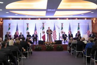 <!--:es-->Reunión de Alto Nivel entre México- EU conforman comitivas de comercio, economía  transporte y relaciones exteriores: Wayne<!--:-->