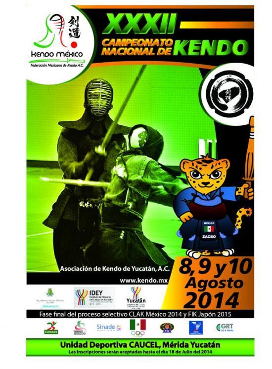 <!--:es-->Yucatán anfitrión del Nacional de Kendo<!--:-->