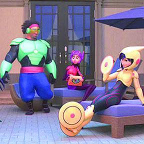 "<!--:es-->Génesis Rodríguez estrenó ""Big Hero 6""<!--:-->"