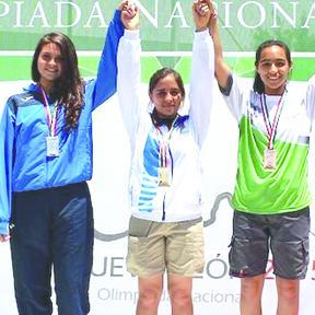<!--:es-->Sudcaliforniana hace historia en Olimpiada Nacional 2015; gana tres oros<!--:-->