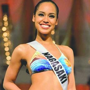 <!--:es-->La nueva Miss Japón desata polémica por ser morena<!--:-->