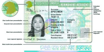 green cardd