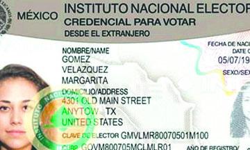 <!--:es-->Así será la credencial del INE para votar desde el Extranjero<!--:-->