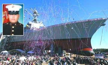 <!--:es-->Bautizan buque de guerra con el nombre de un soldado Mexicano<!--:-->