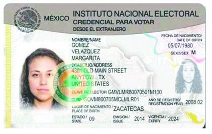 <!--:es-->Imprimen las primeras credenciales de elector para mexicanos en EEUU<!--:-->
