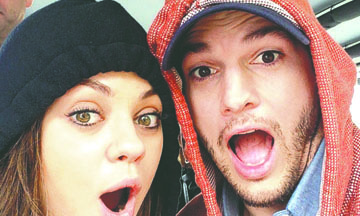 ¿Cigüeña en camino? Mila Kunis y Ashton Kutcher tendrían otro hijo