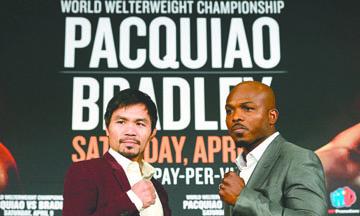 Aventajan Zurdo Ramírez y Manny Pacquiao en apuestas