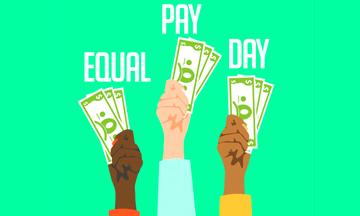 Batalla femenina por sueldo Masculino