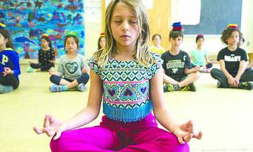 Escuelas que enseñan a meditar, increíble lo que está sucediendo