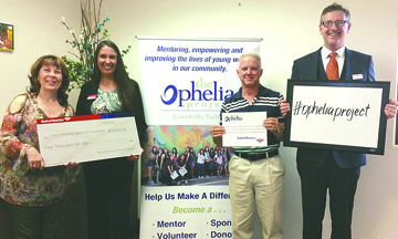 Ophelia Project is so excited to receive program support from Bank of America!