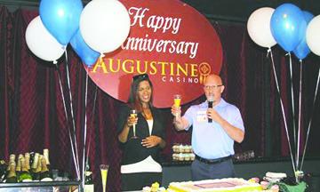 Happy 14th Anniversary Augustine Casino!