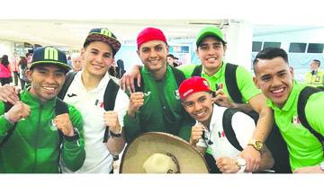 Los boxeadores viajan a Brasil con el sueño de una medalla