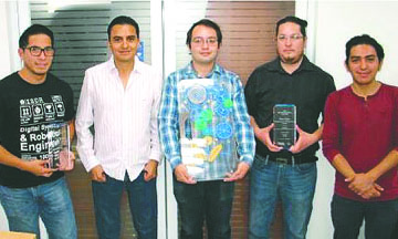 Mexicanos ganan concurso de Ingeniería en EU