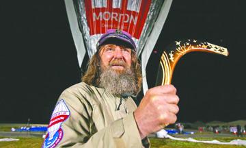 Fedor Konyukhov, el aventurero ruso que batió un récord mundial dando la vuelta al mundo en globo en 11 días