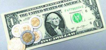 Dólar sigue al alza, cierra en $20.13