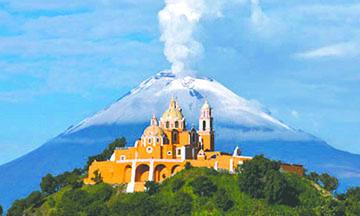 La mayor pirámide del mundo que se oculta dentro de una montaña en México