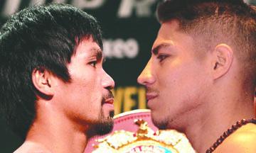 Confiado Jessie Vargas en sorprender a Manny Pacquiao