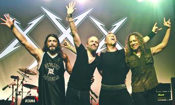 Metallica regresa con explosivo disco y alista concierto en México