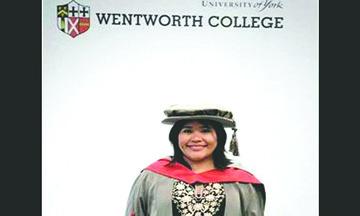 Indígena Yucateca obtiene doctorado en la Universidad de York, Inglaterra