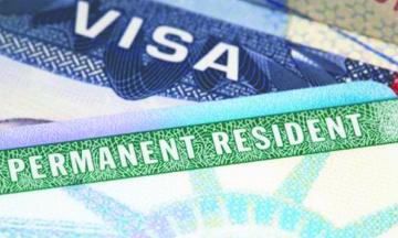 La visa que da la Residencia permanente de EU en dos años