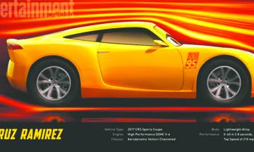 """""""Cruz Ramírez"""", un nuevo personaje en """"Cars 3"""""""