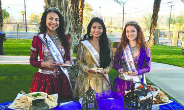 Queen and Princess for the Riverside County Fair & National Date Festival