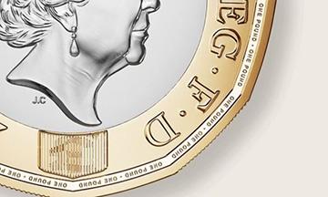 """El secreto que hace de la nueva moneda de una libra """"la moneda más segura del mundo"""""""