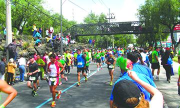 Maratón de CDMX impondrá récord en 2017