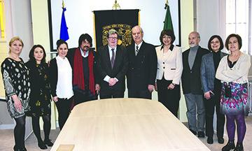 Firman acuerdo de colaboración la UNAM-Francia y el capítulo francia de la red de talentos mexicanos en el extranjero