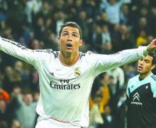 Real Madrid presume 400 goles de CR7 vestido de blanco