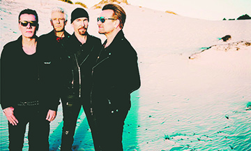 U2 anuncia concierto en México y Latinoamérica