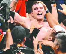 No hace caso a las críticas Jeff Horn tras victoria sobre Manny Pacquiao