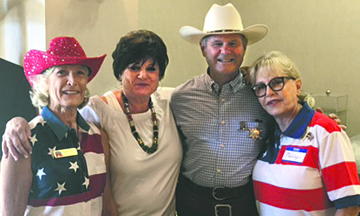 East Valley Republican Women hosted their annual Hoe Down