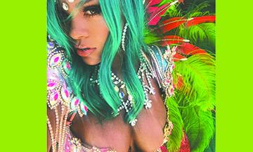 ¡Rihanna enciende las redes con sensual atuendo de carnaval!
