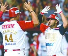 Campeón Águilas arranca con victoria  sobre Cañeros en Liga Mex-Pac