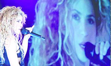 Shakira pospone gira por problemas en las cuerdas vocales