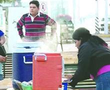 Habitantes de Sonora resienten descenso drástico de temperaturas por frente frío 14