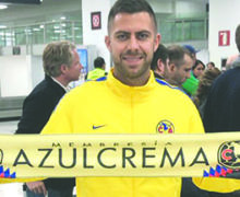 Americanistas enloquecen en el aeropuerto tras llegada de Jérémy Ménez