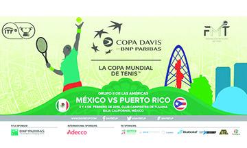 Presentarán avances de Copa Davis en nueva Conferencia de Prensa este Miércoles