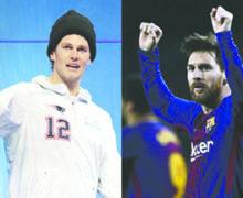 Tom Brady se declara fan de Messi