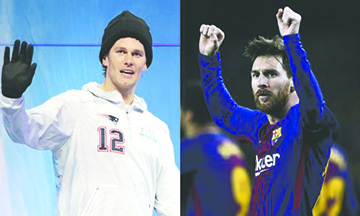 Tom Brady se declara fan de Messi